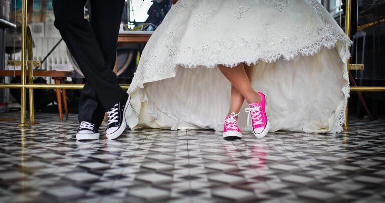 זוג מגניב מתחתן